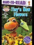 Tiny's New Flowers