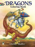 Dragons Coloring Book (Dover Coloring Books)