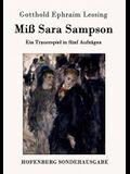 Miß Sara Sampson: Ein Trauerspiel in fünf Aufzügen