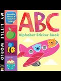 ABC Alphabet Sticker Book