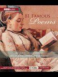 81 Famous Poems: Unabridged Classic Short Stories