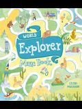 World Explorer Maze Book