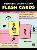 Complete Color-Coded Flash Cards: For All Beginning Music Students, Flash Cards