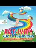 Art-ivity for Little Artists Activity Book 3 Years Old and Above