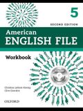 American English File Second Edition: Level 5 Workbook: With Ichecker