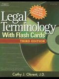 Legal Terminology with Flashcards [With CDROM and Flash Cards]