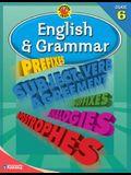 Brighter Child® English and Grammar, Grade 6 (Brighter Child Workbooks)