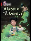Collins Big Cat - Aladdin and the Genie: Ruby/Band 14