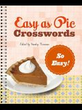 Easy as Pie Crosswords: So Easy!