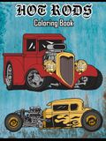 Hot Rods Coloring Book