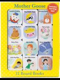 Mother Goose 12 Mini Board Books