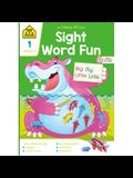 School Zone Sight Word Fun Grade 1 Workbook