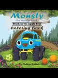 Monsty the Monster Truck Stuck In the Apple Tree Coloring Book