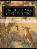 The Aesop for Children: Story and D'Nealian Copwork Book, Volume II