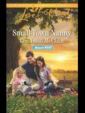Small-Town Nanny (Rescue River)
