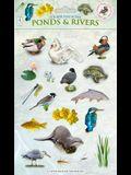 Sticker Play Scene: Ponds & Rivers