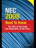 NEC® 2008 Need to Know (P/L Custom Scoring Survey)