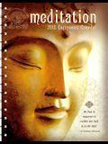 Meditation 2018 Engagement Calendar