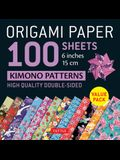 Origami Paper 100 Sheets Kimono Patterns 6 (15 CM): High-Quality Double-Sided Origami Sheets Printed with 12 Different Patterns (Instructions for 6 P