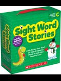 Sight Word Stories: Level C (Parent Pack): 25 Easy Books That Jumpstart Reading Success