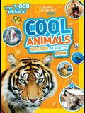 Cool Animals Sticker Activity Book [With Sticker(s)]