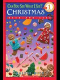 Can You See What I See? Christmas (Scholastic Reader, Level 1): Read-And-Seek