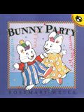 You Are Invited to a Bunny Party Today at 3 PM