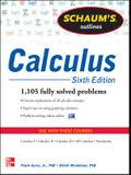 Schaum's Outline of Calculus, 6th Edition: 1,105 Solved Problems + 30 Videos (Schaum's Outlines)