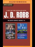 J. D. Robb: In Death Series, Books 7-8: Holiday in Death, Conspiracy in Death