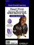 Head First JavaScript Code Magnets [With Magnets]