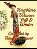 Ragtime Women Fall & Winter: Grayscale Adult Coloring Book