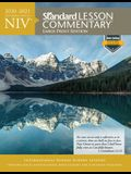 Niv(r) Standard Lesson Commentary(r) Large Print Edition 2020-2021