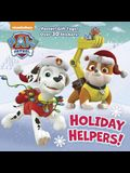Holiday Helpers! (PAW Patrol) (Deluxe Pictureback)