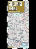 Streetwise Vienna Map - Laminated City Center Street Map of Vienna, Switzerland