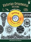 Victorian Ornamental Designs CD-ROM and Book (Dover Electronic Clip Art)