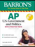 AP Us Government and Politics: With 2 Practice Tests