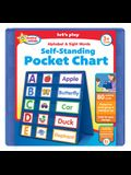 Active Minds Alphabet and Sight Words Pocket Chart