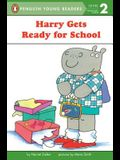 Harry Gets Ready for School