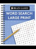 Brain Games Large Print Word Search