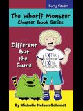 The Whatif Monster Chapter Book Series: Different But the Same