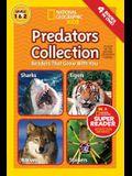 Predators Collection: National Geographic Kids Super Reader Levels 1 & 2