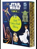 Star Wars: I Am A...Little Golden Book Library (Star Wars): I Am a Pilot; I Am a Jedi; I Am a Sith; I Am a Droid; I Am a Princess