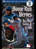 DK Readers: MLB Home Run Heroes (Level 3: Reading Alone)