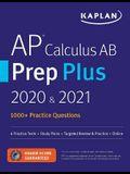 AP Calculus AB Prep Plus 2020 & 2021: 8 Practice Tests + Study Plans + Review + Online