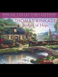 Thomas Kinkade Special Collector's Edition 2022 Deluxe Wall Calendar with Print: Bridges of Hope