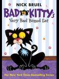 Bad Kitty's Very Bad Boxed Set (#1): Bad Kitty Gets a Bath, Happy Birthday, Bad Kitty, Bad Kitty Vs the Babysitter - With Free Poster!