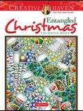 Creative Haven Entangled Christmas Coloring Book
