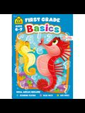 School Zone First Grade Basics 64-Page Workbook