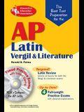 AP Latin: Vergil Exam, Literature Exam: The Best Test Preparation [With CDROM]