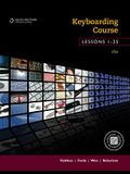 Keyboarding Course, Lessons 1-25: College Keyboarding